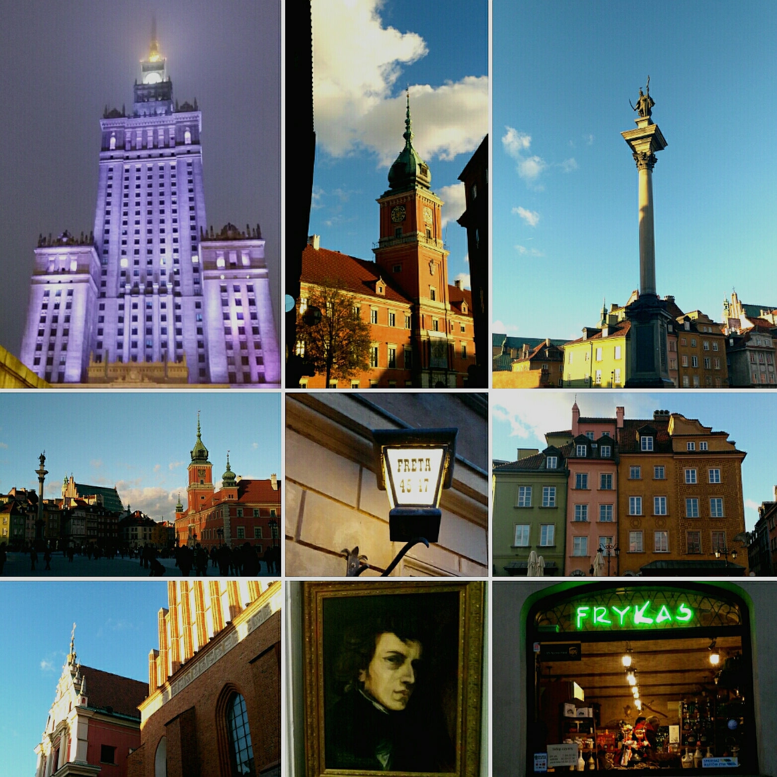 Collage Warsaw